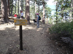 Ontario Peak sign