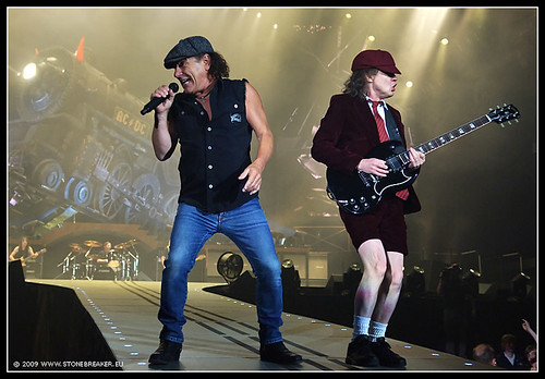AC/DC: Brian Johnson and Angus Young