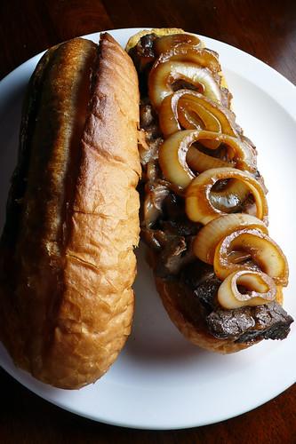 steak sangwich