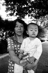 Sleepy time (Austyn G) Tags: china minoltasrt101 blackandwhitefilm