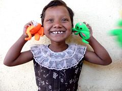 squeaky mice smiles! (marian_spiers) Tags: school india girl child smiles pune villlage