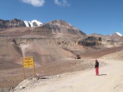 Baralacha La (Pass), Himachal Pradesh, India (Marc_P98) Tags: road india mountain snow rock truck la highway pass vehicle leh manali himachal pradesh baralacha
