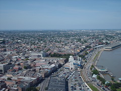 French Quarter from One Canal Place (CityBoy1986) Tags: frenchquarter cbd observationdeck viewcarre