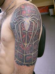 Tatuagem homem aranha tattoo