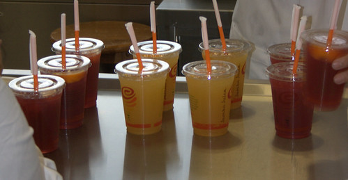 Jamba Juice - Fruit Tea Infusion beverages