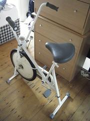Exercise bike 2 (pauls) Tags: freecycle