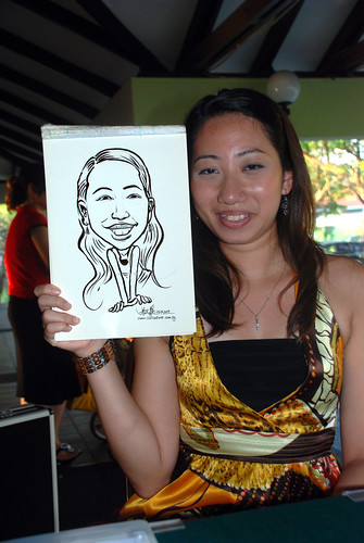 Caricature live sketching for Costa Sands Resort Day 2 - 7