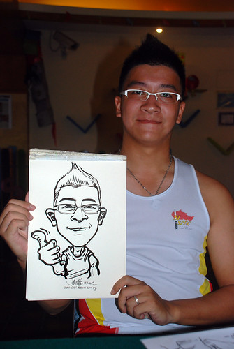 Caricature live sketching for Costa Sands Resort Day 3 - 16