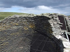 """Mousa Broch (nz_willowherb) Tags: storm stone see scotland construction ancient flickr tour visit shetland nests broch mousa petrel to"""" """"go visitshetland seeshetland goptoshetland"""