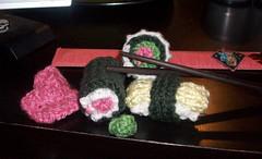 knitty sushi full (francinegb) Tags: knitty