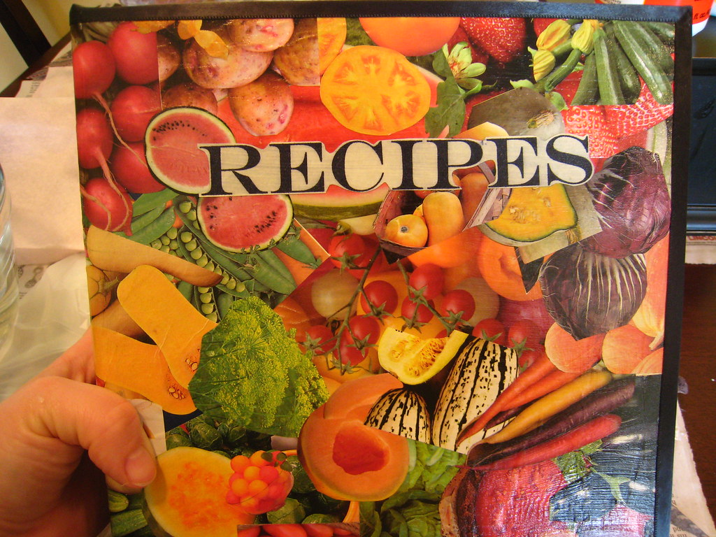 Decoupage Photo Album - Recipes