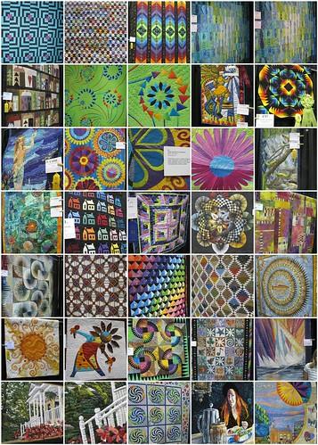 Vermont Quilt Festival mosaic