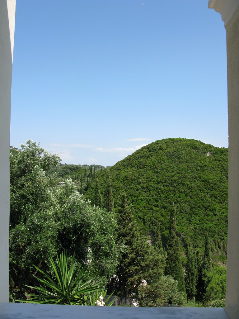 From our balcony, Paleokastritsa, Corfu Island