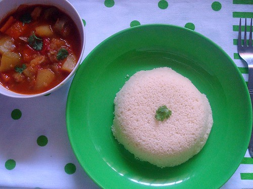 Couscous and stew1
