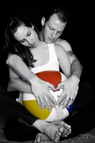 the metaphorical (adoption) maternity photo series four