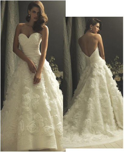 Wedding Gowns lavish lace
