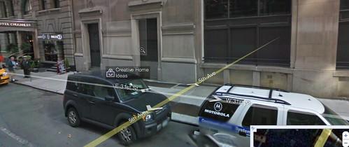 Google Maps Street View Building