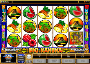 Big Kahuna slot game online review