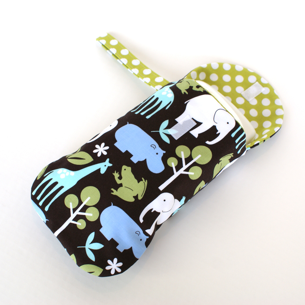 Zoology Diapers and Wipes Case
