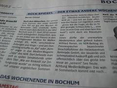 WAZ Bochum: Rück-Spiegel zu Kaiman Kai