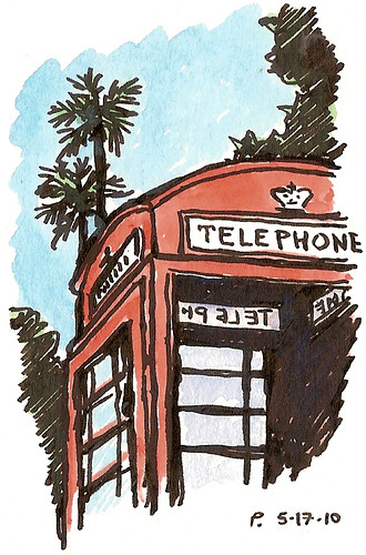 phonebox at uc davis
