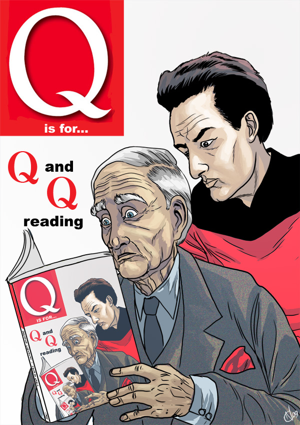 Q is for... Q and Q reading Q