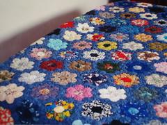 Colcha (Zizi Anil) Tags: casa artesanato artesanal anil fuxico decorao artesanatos zizi colcha fuxicos colchas zizianil