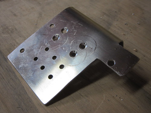 Countersunk Holes for Grounding Tabs