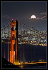 Fullmoon - Golden Gate Bridge - San Francisco - CA *Explore* (Dominique Palombieri) Tags: sf sanfrancisco california bridge light sea usa moon night lune landscape bay flickr expo fav50 fav20 fullmoon explore goldengate pont dominique fav30 nuit marinheadlands 2010 californie 800iso 150mm fav10 fav100 fav200 fav40 fav60 fav110 fav90 fav150 expoprint fav170 fav80 fav70 fav120 fav140 fav160 canoneos7d fav180 fav190 fav130 fav210 fav220 fav230 fav240 palombieri lensef70200mmf28lusm 60secatf67 mygallery1 mayoz stunningphotogpin mayoznico