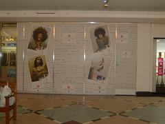 Shop Hoardings during renovation - 16mm X-Board