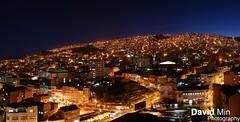 La Paz, Bolivia - Urban Maze (GlobeTrotter 2000) Tags: world travel blue vacation panorama tourism skyline night america la cityscape south paz bolivia visit el hour maze exploration alto lapaz