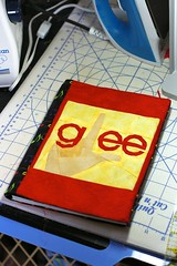 Glee journal cover