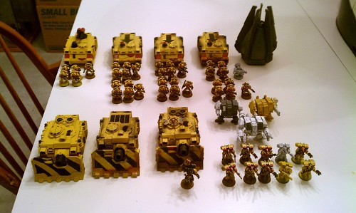 2000 pts Imperial Fists - 3rd Company