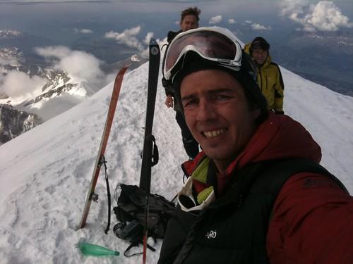Sommet du Mont Blanc à skis