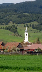 a szomszd falu tornya / the nearby village (debreczeniemoke) Tags: tower church catholic village transylvania torony transilvania erdly falu vrtemplom rmaikatolikus cskszentgyrgy canonpowershotsx20is szentgyrgyvrtan