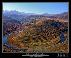 In the Mountain Kingdom (thpeter) Tags: 2005 africa mountainkingdom gmt southernafrica gbr drakensberg dst leshoto thomaspeter thpeter