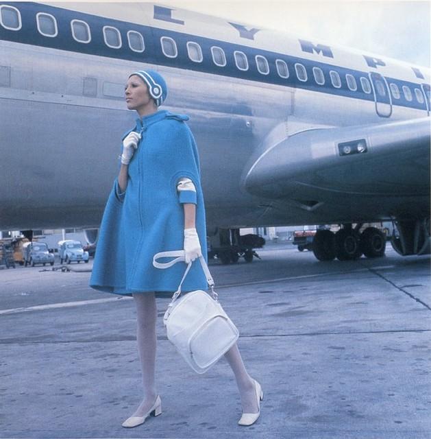60s stewardess