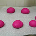 Steamed beetroot bread (buns) 5/5
