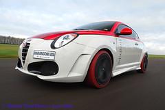 Marangoni Mito M430 220bhp (michaelward_autoitalia) Tags: red moving turbo alfa romeo mito rolling tracking tyres trc marangoni m430 michaelwardphotos cartocar car2car 220bhp
