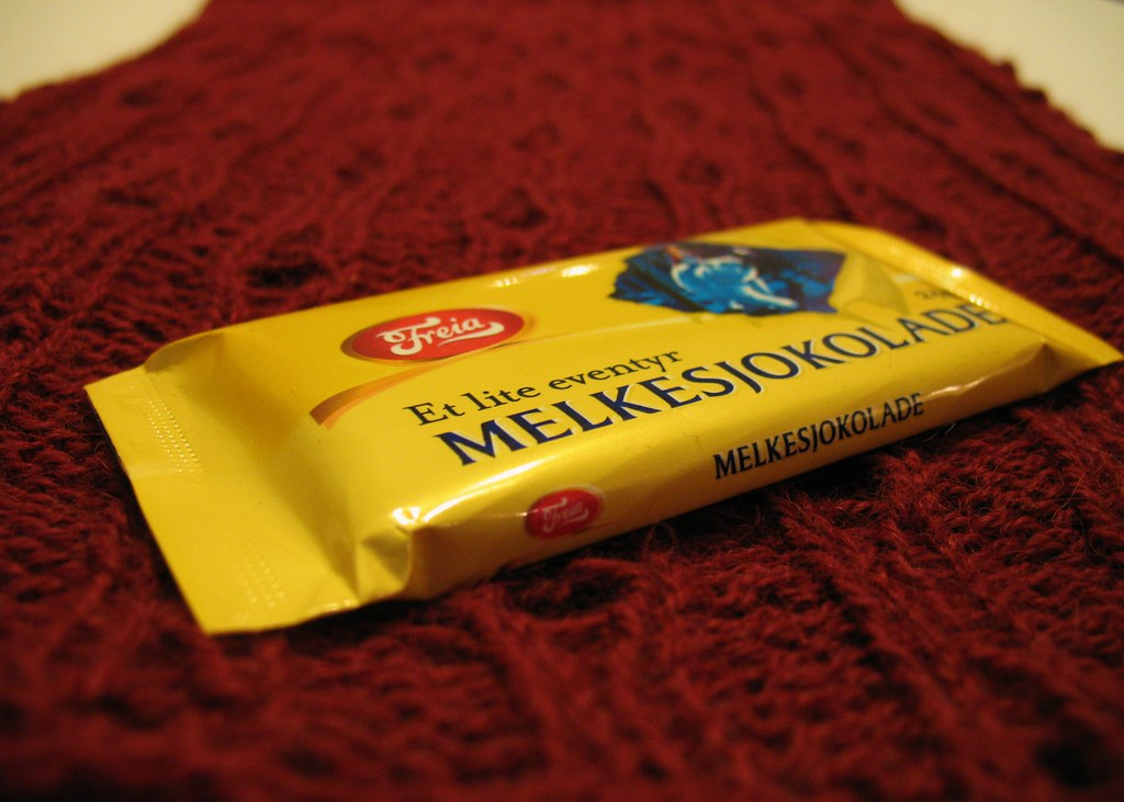 Scarf and Chocolate from Norway by Mr.TinDC, on Flickr