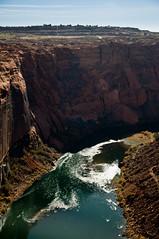 Colorado River (wenzday01) Tags: travel arizona water river nikon colorado dam az canyon glen coloradoriver nikkor glencanyon glencanyondam d90 nikond90 18105mmf3556gedafsvrdx