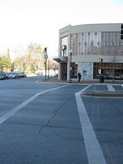 2009 01 23 - 0881 - Friendship Village - MD355 at S Park Ave - EfSW (thisisbossi) Tags: usa us md unitedstates maryland crosswalks trafficsignals friendshipvillage pedestriansignals southparkavenue md355