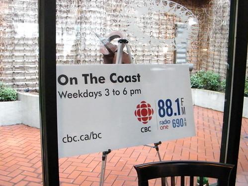 CBC On the Coast Liveblog