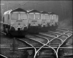 waiting for the off (Simon_K) Tags: england beautiful suffolk transport rail railway trains engines freight ipswich containers eastanglia freightliner railwaylines