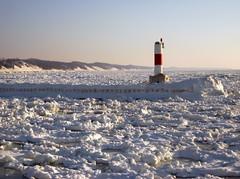 Lake Michigan Ice (rkramer62) Tags: ice lakemichigan hollandpier theunforgettablepictures rkramer62