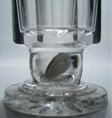 Half Dime in Glass 2