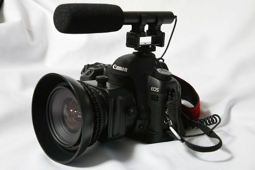 AZDEN SMX-10 + EOS 5D Mark II