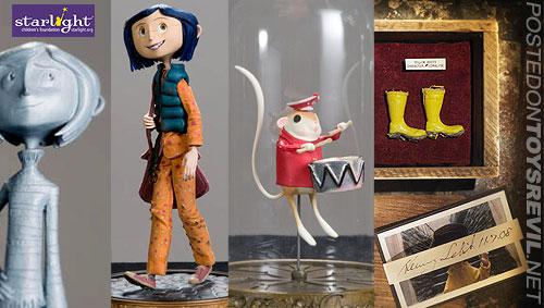 Coraline Movie Ebay Auctions To Benefit Starlight Children S Foundation