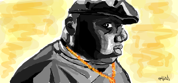Facebook Graffiti: Notorious BIG