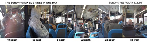 Sunday bus extravaganza